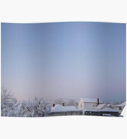 Feb. 19 2012 Snowstorm 86 Poster