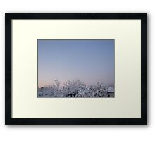 Feb. 19 2012 Snowstorm 87 Framed Print