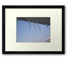 Feb. 19 2012 Snowstorm 89 Framed Print