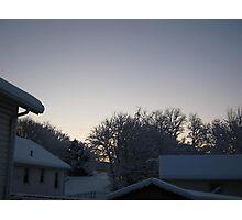 Feb. 19 2012 Snowstorm 91 Photographic Print