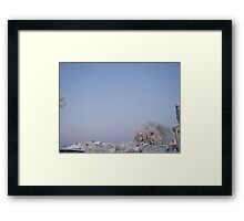 Feb. 19 2012 Snowstorm 92 Framed Print