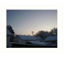 Feb. 19 2012 Snowstorm 94 Art Print