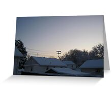 Feb. 19 2012 Snowstorm 94 Greeting Card