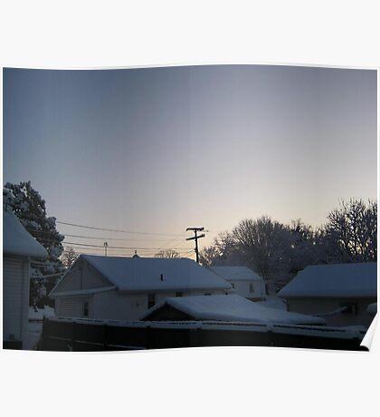Feb. 19 2012 Snowstorm 94 Poster