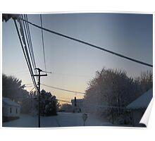 Feb. 19 2012 Snowstorm 100 Poster