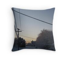 Feb. 19 2012 Snowstorm 100 Throw Pillow
