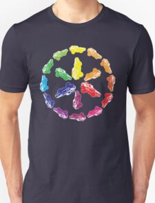Ford Mustang / Itten Color wheel T-Shirt