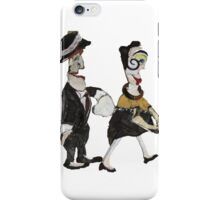 Theatre Going Couple  iPhone Case/Skin