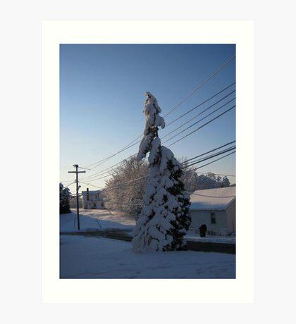 Feb. 19 2012 Snowstorm 112 Art Print