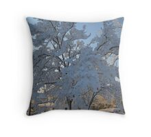 Feb. 19 2012 Snowstorm 119 Throw Pillow