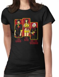The Good, The Bad and the Vicious Womens Fitted T-Shirt