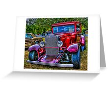 '30 Chevy Greeting Card