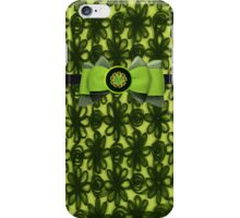 lace Lime Green Funky Iphone or Ipod Case iPhone Case/Skin