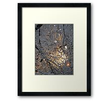 Feb. 19 2012 Snowstorm 131 Framed Print
