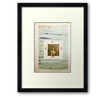 CAN YOU SMELL THE CHILDREN BURNING AT DAWN Framed Print