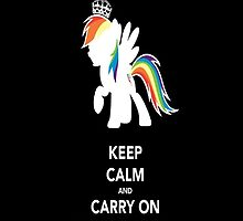 Keep Calm and Brony On by wafflzxpqx