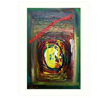 Crossed Paths Cosmic Synthesis 2008 Art Print