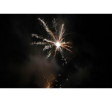 Crossford 2006 firework display Photographic Print