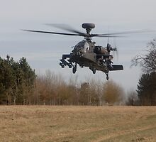 Apache Landing by Karl Thompson
