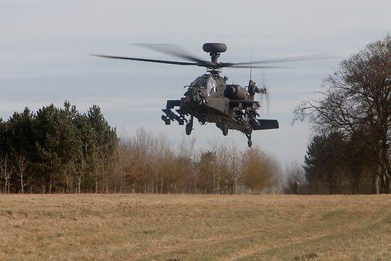 Apache Landing by Karl Thompson