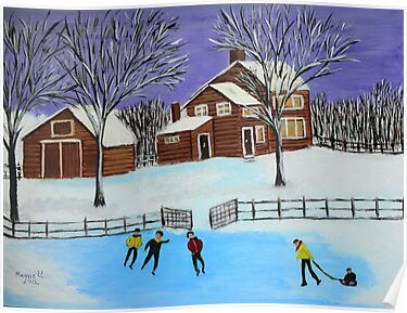 Winter fun on the farm by maggie326