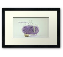 Relax yourself! Framed Print