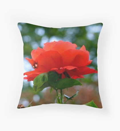 Ruby Tear for Margaret Throw Pillow