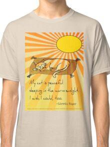 Cat Nap Haiku Classic T-Shirt