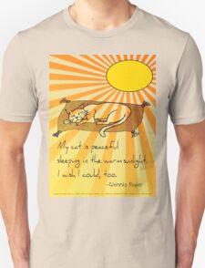 Cat Nap Haiku Unisex T-Shirt