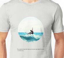 Surfing Print Unisex T-Shirt