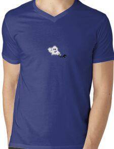 Hello Pixel Ghost ! Mens V-Neck T-Shirt