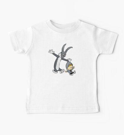 Donnie Darko / Calvin & Hobbes Mash-up Baby Tee