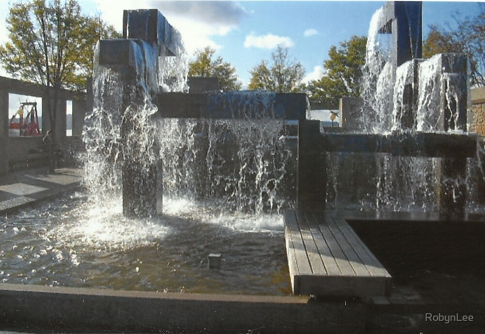 Waterfall Sculpture by RobynLee