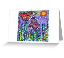 The Magical Monarch Greeting Card