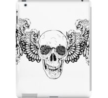 Gothic Skull with wings iPad Case/Skin