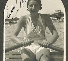 LA ZIA ANGELA AL LIDO DI VENEZIA - ITALIA  1934- .5000 visualizz2015  -  &  FEATURED RB EXPLORE 10 OTTOBRE 2011 ---. by Guendalyn