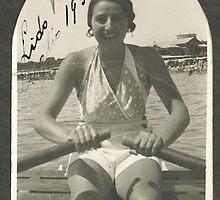 LA ZIA ANGELA AL LIDO DI VENEZIA - ITALIA  1934- .5000 visualizz2015  -  &  FEATURED RB EXPLORE 10 OTTOBRE 2011 ---. by Guendalyn