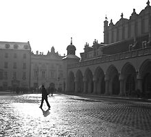 Krakow main square  by James Taylor