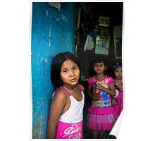 Three girls, Thailand Poster