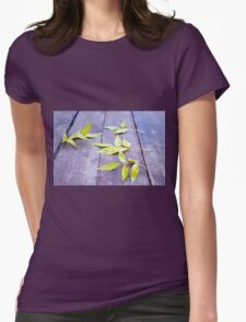 Selective focus on the yellow autumn leaves ash closeup T-Shirt