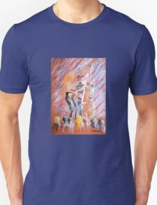 I Love Bluegrass Pastel Painting T-Shirt