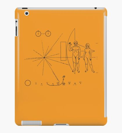 Pioneer Message - Light iPad Case/Skin