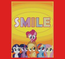 Smile! - Pinkie Pie (Bordered) One Piece - Long Sleeve