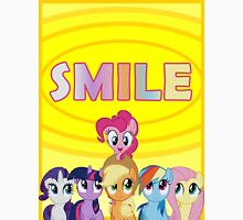 Smile! - Pinkie Pie (Bordered) Unisex T-Shirt