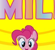 Smile! - Pinkie Pie (Bordered) Sticker