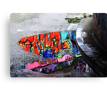 Coloured Rain Canvas Print