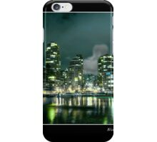 Blue Moon Over Vancouver iPhone Case/Skin