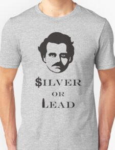 $ilver or Lead Unisex T-Shirt