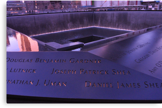 9/11 Memorial - New York City by michael6076