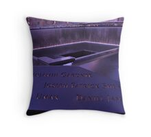 9/11 Memorial - New York City Throw Pillow